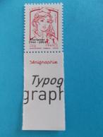 TIMBRE,No;4767Bb, MARIANNE De CIAPPA Et Kawena SURCHARGE,Lettre PRIO,impression SERIGRAPHIE XX,timbre Bon état - 2013-... Marianne De Ciappa-Kawena