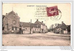 58.CHAMPVERT.ROUTE DE VERNEUIL. - France