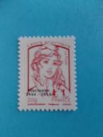 TIMBRE,No;4767Bd, MARIANNE De CIAPPA Et Kawena SURCHARGE,Lettre PRIO,impression OFFSET XX,timbre Bon état - 2013-... Marianne Of Ciappa-Kawena