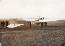 France Aviation Monoplan Tellier Moteur Panhard Emile Dubonnet Ancienne Photo Rol 1911 - Aviation