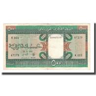 Billet, Mauritanie, 500 Ouguiya, 1985, 1985-11-28, KM:6c, TTB - Mauritanie