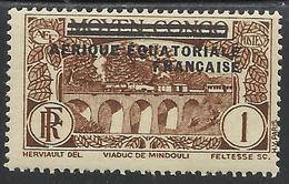 AFRIQUE EQUATORIALE FRANCAISE - AEF - A.E.F. - 1936 - YT 1** - Neufs