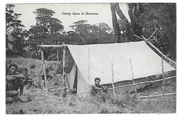 Papouasie Nouvelle-Guinée - Missionnaires Du Sacré Coeur D'Issoudun - Camp Dans La Brousse - Papua New Guinea