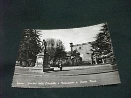 TORINO GIARDINI DELLA CITTADELLA E MONUMENTO A PIETRA MICCA - Parcs & Jardins