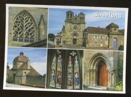 Souvigny (03) : Multivues Sur L'église Et La Porte Du Prieuré - Other Municipalities