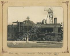(Trains) Locomotive . Train Nord 107-2169 à Compiègne . 1902 . - Eisenbahnen
