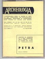 Pochette De 12 Diapositives  De La Revue  Archéologia  -  PETRA    Avec Notice De Commentaires - Diapositives (slides)