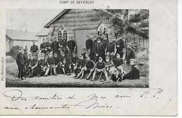 1 CPA 1903 Camp De Beverloo Kamp Ph Mahieu Phot. - Leopoldsburg (Camp De Beverloo)