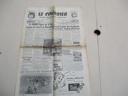 LE COURRIER FOURMIES NORD DU SAMEDI 18 AOUT 1956 - Zeitungen