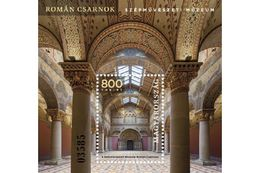 HUNGARY - 2019.S/S - Romanesque Hall Of The Museum Of Fine Arts MNH!!! - Blocs-feuillets
