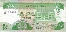Mauricio - Mauritius 10 Rupees 1985 Pk 35 B Firma 5 Ref 9 - Mauricio