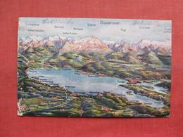 Map With Stamp & Cancel   -ref 3303 - Austria