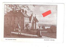 OLD GREENOCK SERIES MANSION HOUSE RENFREWSHIRE 1904 GREENOCK POSTMARK FRENCH POSTMARK - Renfrewshire