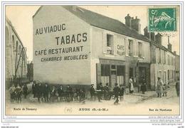 77.AVON.CAFE RESTAURANT AU VIADUC.CAFE BILLARD - Avon