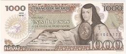 México 1000 Pesos 30-10-1984 Pk 81 WW UNC - Mexico