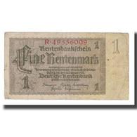 Billet, Allemagne, 1 Rentenmark, 1937, 1937-01-30, KM:173b, B+ - [ 3] 1918-1933 : República De Weimar