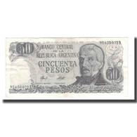 Billet, Argentine, 50 Pesos, Undated (1976-78), KM:301a, SUP - Argentine