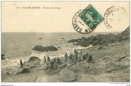 56 . N°38603 . Ile De Groix . Rocher Du Gripp - Groix
