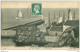 56 .n°40005 . Ile De Groix . Les Rochers.pas Courante - Groix