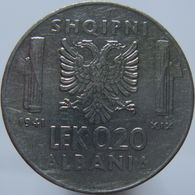 Albania 0.20 Lek 1941 VF - Albania