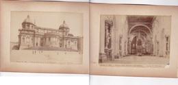 ROMA... PHOTO ROMUALDO MOSCIONI ALBUMINA ALBUMINEE CIRCA 1870s SIZE 22.5x17cm ONE ATTACHED TO THE OTHER - BLEUP - Fotos