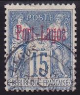 Port-Lagos N° 3 - Voir Verso & Descriptif - - Port-Lagos (1893-1931)