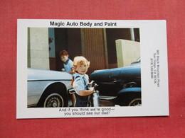 Magic Auto Body & Pain  San Diego Ca----------  Ref 3304 - Advertising