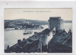 CONSTANTINOPLE. CHATEAUX D'EUROPE ET BOSPHORE. N AZIKRI. CPA CIRCA 1920s - BLEUP - Turchia