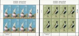 """IRLANDA /IRELAND / IRLAND / ÉIRE / EUROPA 2019 -NATIONAL BIRDS.-""""AVES - BIRDS - VÖGEL -OISEAUX""""- 2 HOJAS BLOQUE De 8 - 2019"""