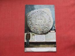 Azteca Calender Mexico Museum Nacional ---  Ref 3304 - Mexico