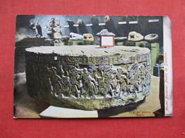 Piedra De Sacrifico    Mexico Museum Nacional ---  Ref 3304 - Mexico