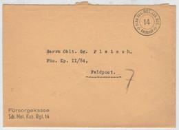 POSTA  MILITARE       FELDPOST     (1939-1945)       (VIAGGIATA) - Posta Militare