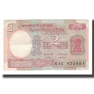 Billet, Inde, 2 Rupees, Undated (1976), KM:79a, TTB - Inde