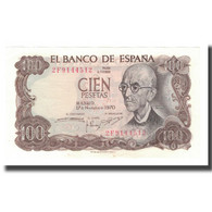 Billet, Espagne, 100 Pesetas, 1970, 1970-11-17, KM:152a, SUP+ - [ 3] 1936-1975 : Regime Di Franco