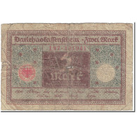 Billet, Allemagne, 2 Mark, 1920, 1920-03-01, KM:60, B - [13] Bundeskassenschein