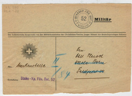 POSTA  MILITARE       FELDPOST     (1939-1945)  (FRONTALE)       (VIAGGIATA) - Posta Militare