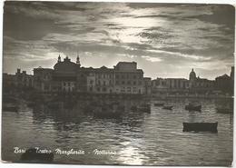 W2691 Bari - Teatro Margherita - Tramonto Sunset Coucher / Viaggiata - Bari