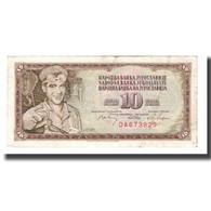 Billet, Yougoslavie, 10 Dinara, 1968, 1968-05-01, KM:82a, TB+ - Yougoslavie