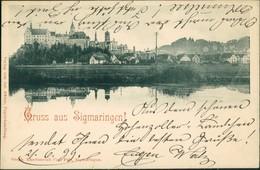 Ansichtskarte Sigmaringen Blick Auf Die Stadt 1899 - Sigmaringen