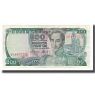 Billet, Colombie, 200 Pesos Oro, 1974, 1974-07-20, KM:417a, TTB - Colombia