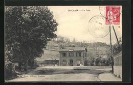CPA Duclair, La Gare, Vue Partielle Avec La Gare - Duclair