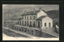 CPA Terrenoire, La Gare - France