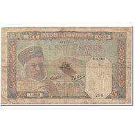 Billet, Algeria, 100 Francs, 1940, 1940-09-30, KM:85, B - Algérie