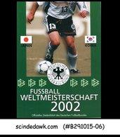 GERMANY - 2002 WORLD CUP OF FOOTBALL / SOCCER - FOLDER - [6] Democratic Republic