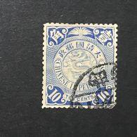 ◆◆◆CHINA 1898-05  EMPIRE Coiling Dragon  10C  USED  AA2691 - China