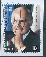 IU224  ITALIA 2018 Oscar Luigi Scalfaro - 6. 1946-.. Repubblica
