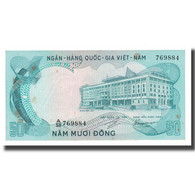 Billet, South Viet Nam, 50 D<ox>ng, Undated (1972), KM:30a, TTB - Viêt-Nam