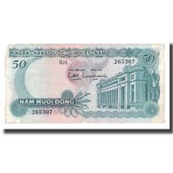 Billet, South Viet Nam, 50 D<ox>ng, Undated (1969), KM:25a, TB - Viêt-Nam
