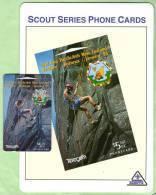 New Zealand - 1994 Scout Venture - $5 Rock Climbing - NZ-E-19 - Mint In Folder - Neuseeland