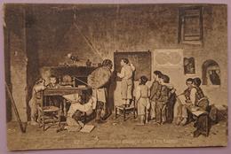 GIUSEPPE COSTANTINI - Scuola Del Villaggio - Galleria D'Arte Moderna Roma - Ed. Richter Via Dei Serpenti - Epoca Nv Art - Pittura & Quadri
